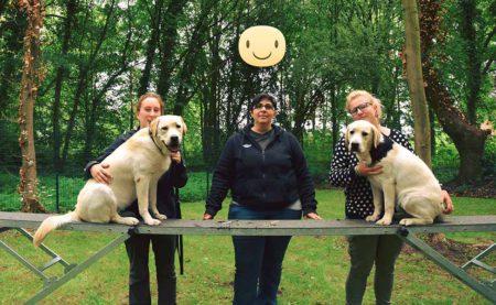 Ontmoet de opvoeders van het opleidingscentrum van blindengeleide honden te Ghlin