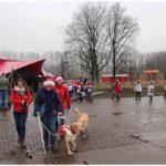 blinde verslaat domein puyenbroeck met haar blindegeleidehond