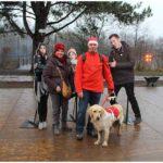 foto met blindengeleidehond