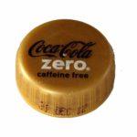 Coca Cola Zero gold