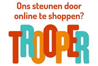 Ons steunen door online te shoppen